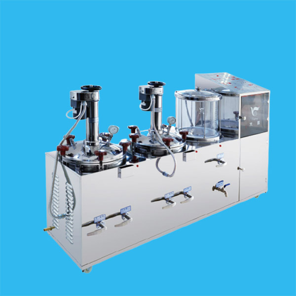 电动挤压密闭煎药包装组合机DP2000-2J15B(DP2000-2J20B)