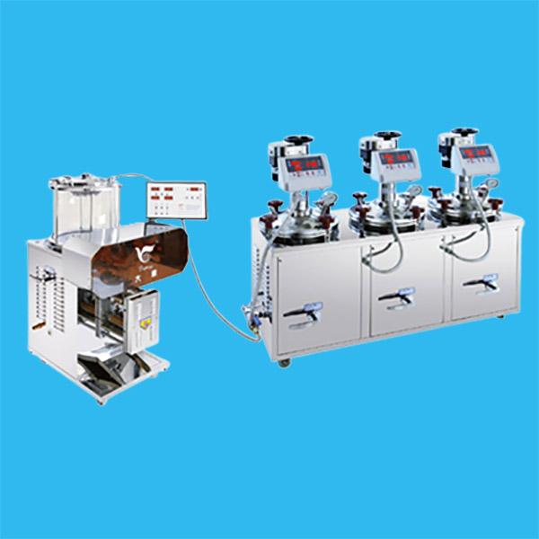 电煎密闭连体机(DP2000-3J15)+(DP2000-B)