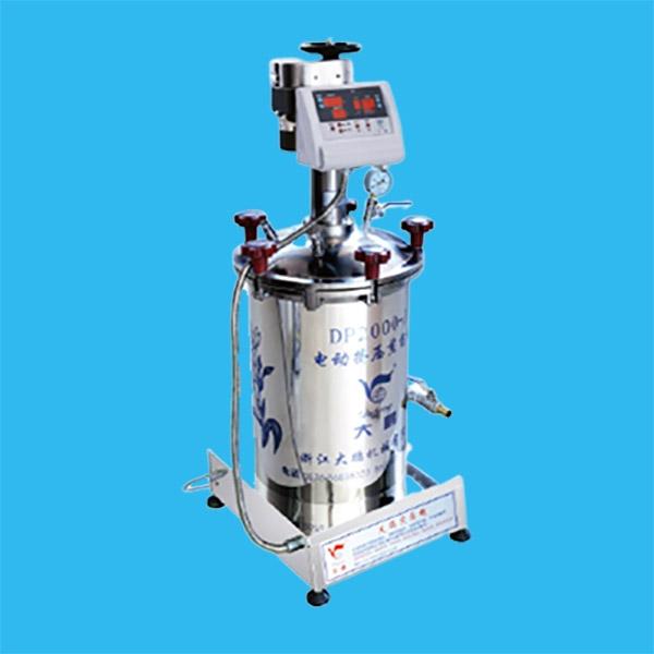 电动挤压密闭煎药机DP2000-J40型