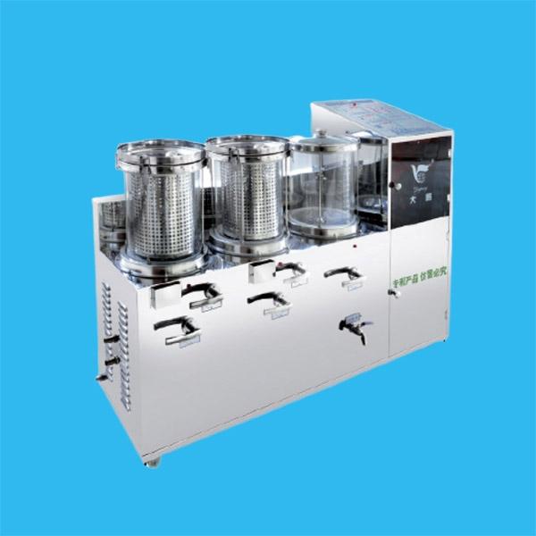 电煎常压煎药包装一体机系列(两煎)DP2000-2A(2+1)型