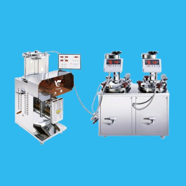 电煎密闭连体机(DP2000-2J15)+(DP2000-B)
